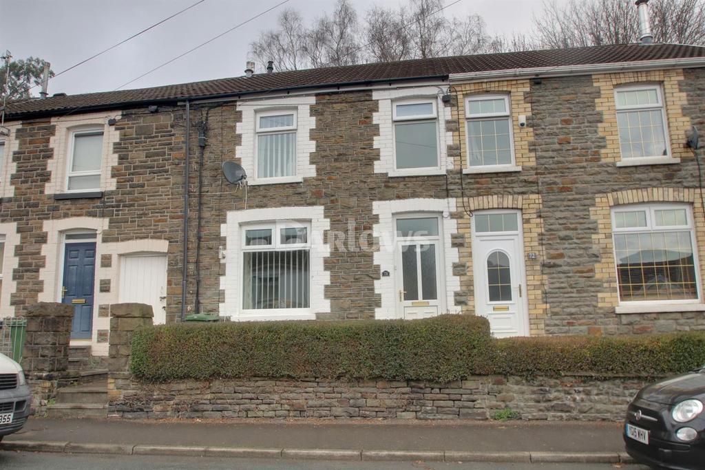 2 Bedrooms Terraced House for sale in Pantygraigwen Road, Pontypridd