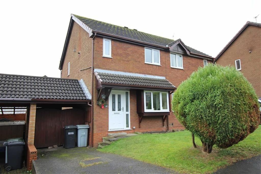 3 Bedrooms Semi Detached House for sale in Peveril Gardens, Newtown, Stockport, Cheshire