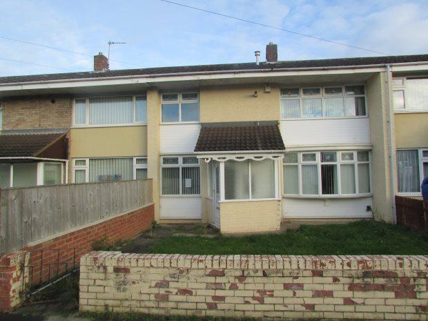 2 Bedrooms Terraced House for sale in TURNER WALK, BRIERTON, HARTLEPOOL