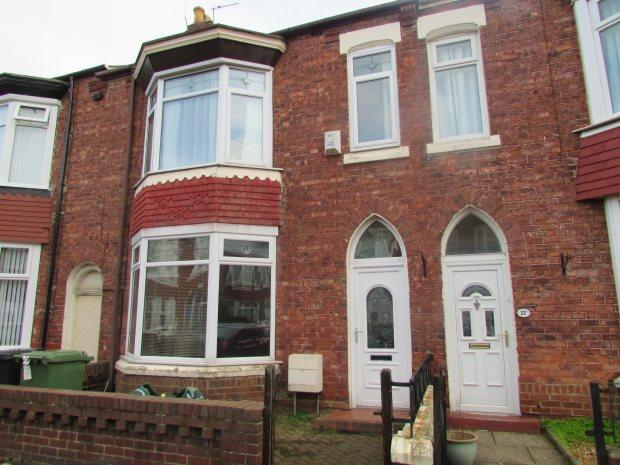 4 Bedrooms Terraced House for sale in EAMONT GARDENS, PARK ROAD, HARTLEPOOL