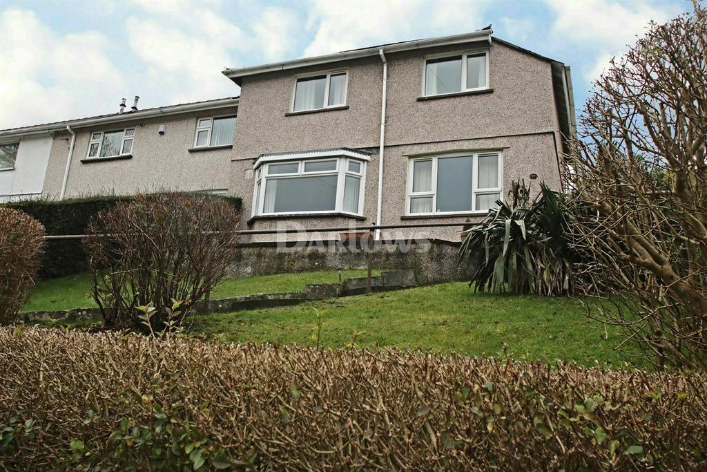 3 Bedrooms End Of Terrace House for sale in Rosey Heyworth Road, Abertillery, Gwent