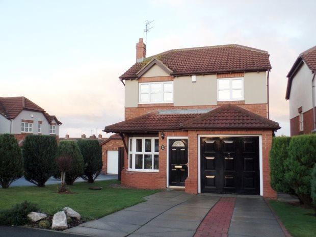 3 Bedrooms Detached House for sale in WHINDYKE, BLACKHALL, PETERLEE AREA VILLAGES