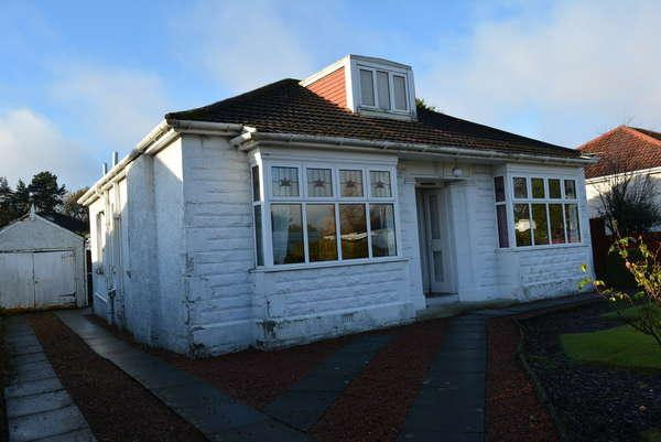 3 Bedrooms Detached Bungalow for sale in 10 Moore Drive, Bearsden, Glasgow, G61 2QY