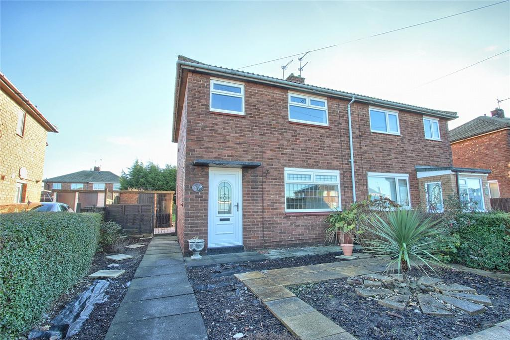 2 Bedrooms Semi Detached House for sale in Buttermere Road, Redcar