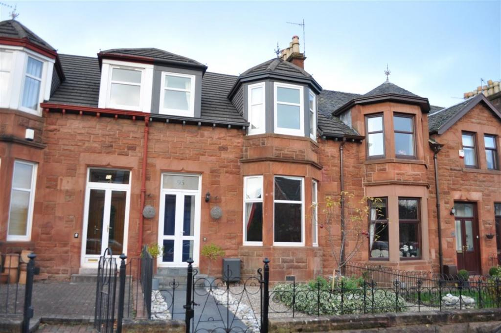 3 Bedrooms Terraced House for sale in 95 Earlspark Avenue, Newlands, G43 2HD