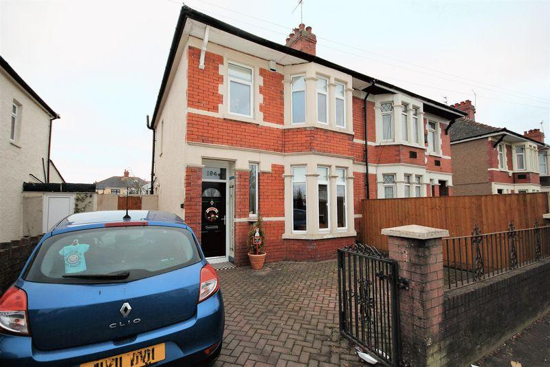 3 Bedrooms Semi Detached House for sale in Merthyr Road, Cardiff