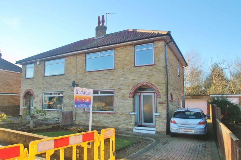 3 Bedrooms Semi Detached House for sale in Willow Drive, Normanby