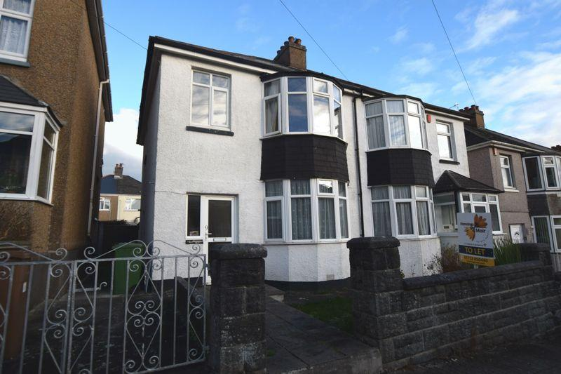 3 Bedrooms Semi Detached House for rent in Birchfield Avenue, Plymouth