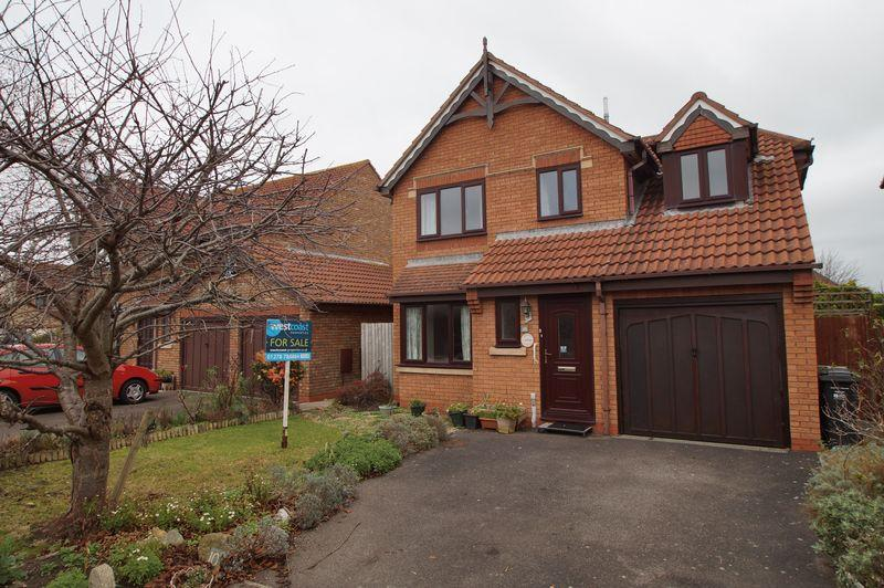 3 Bedrooms Detached House for sale in Rattigan Close, Burnham-On-Sea