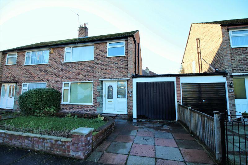 3 Bedrooms Semi Detached House for sale in Jackson Close, Bebington