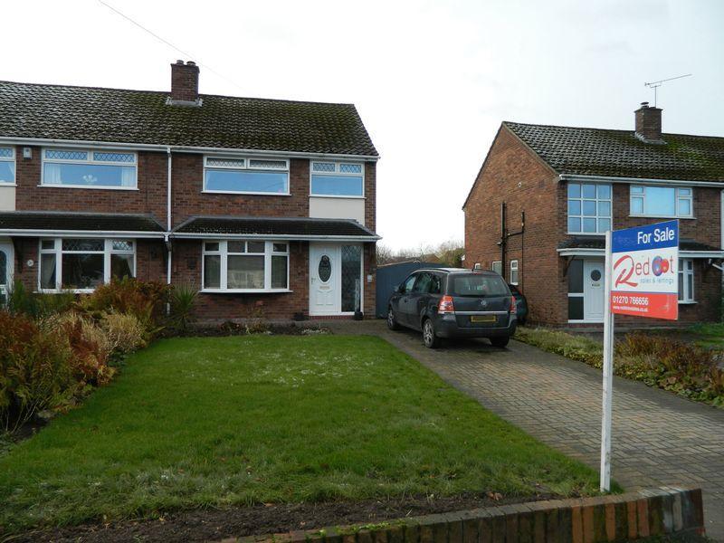 3 Bedrooms Semi Detached House for sale in Hind Heath Road, Sandbach