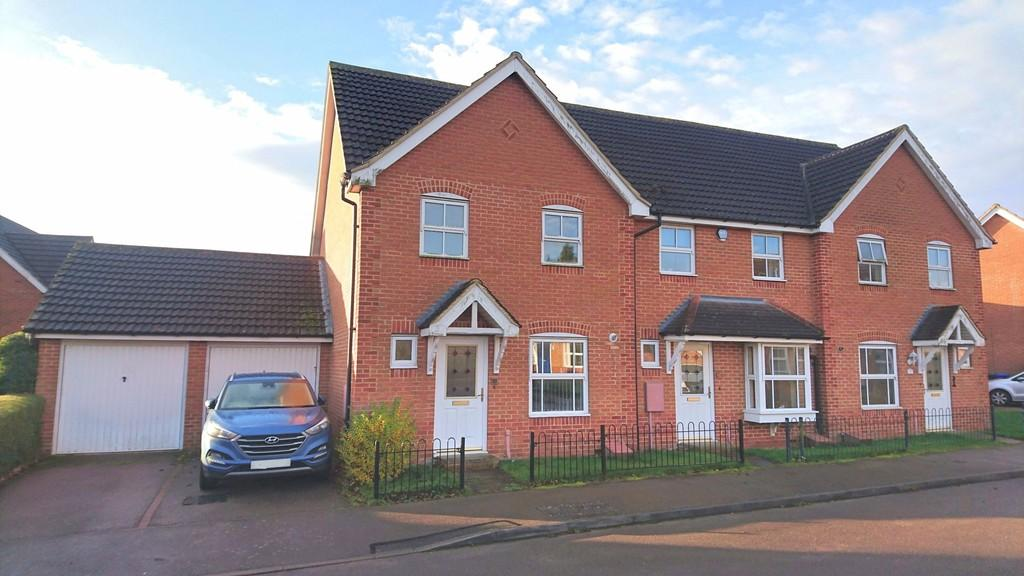3 Bedrooms End Of Terrace House for sale in Heron Drive, Brackley