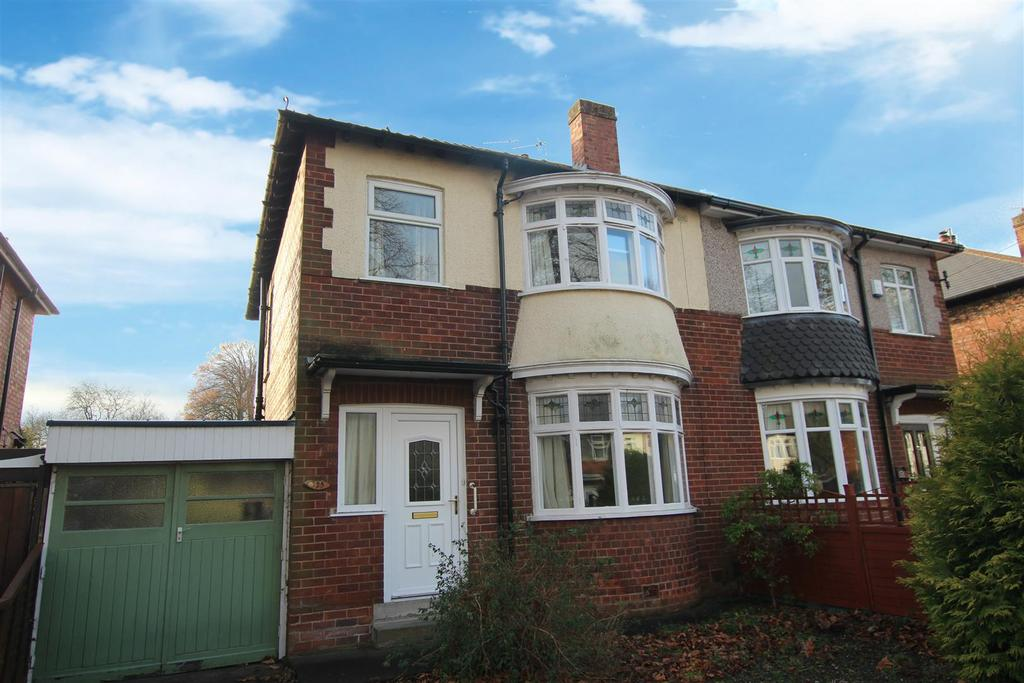 3 Bedrooms Semi Detached House for sale in Salutation Road, Darlington