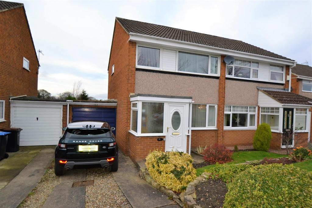 3 Bedrooms Semi Detached House for sale in Scargill Drive, Spennymoor