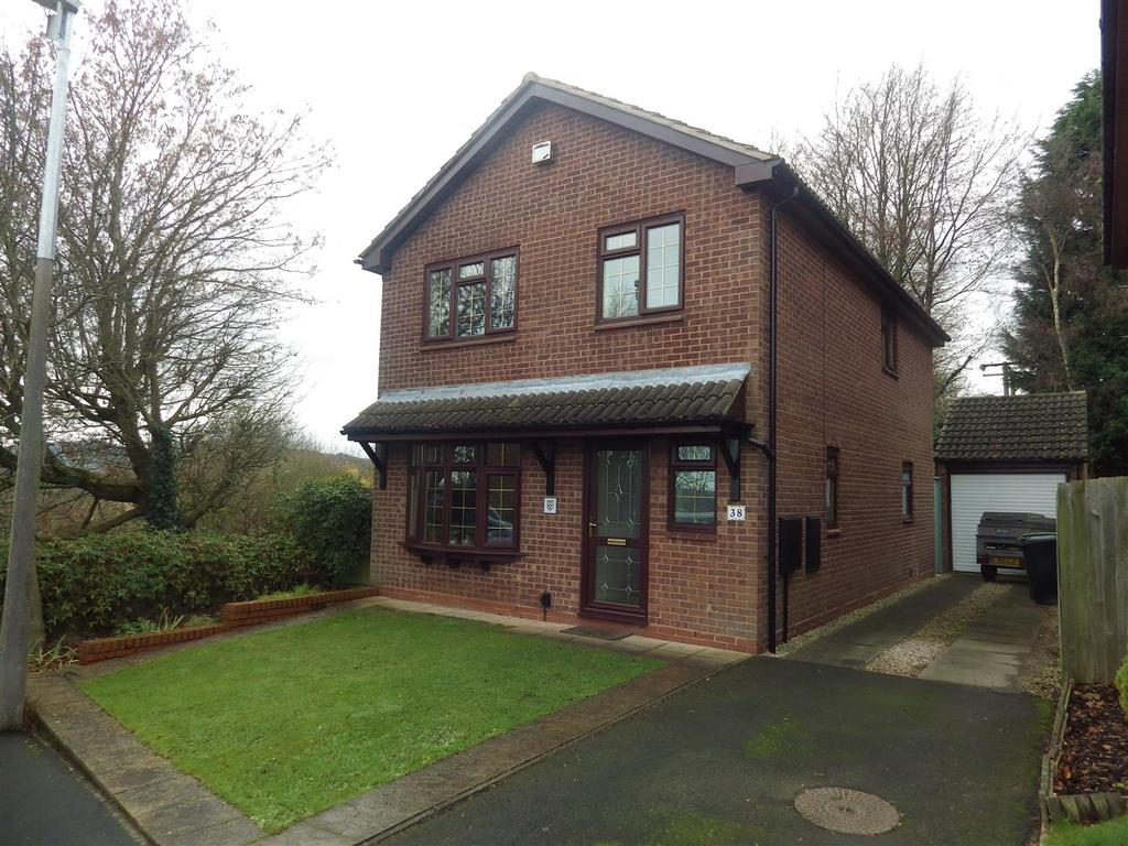 4 Bedrooms Detached House for sale in Willetts Drive, Halesowen