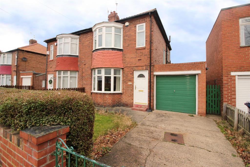 2 Bedrooms Semi Detached House for sale in Pembroke Avenue, Newcastle Upon Tyne