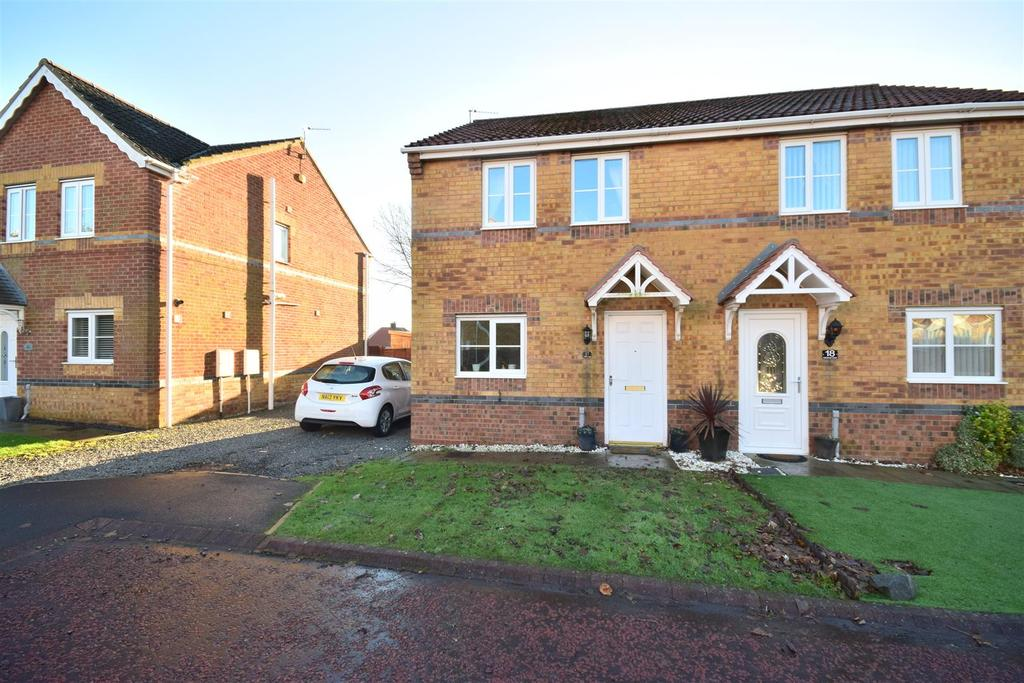3 Bedrooms Semi Detached House for sale in Hetherset Close, Havelock Park, Sunderland