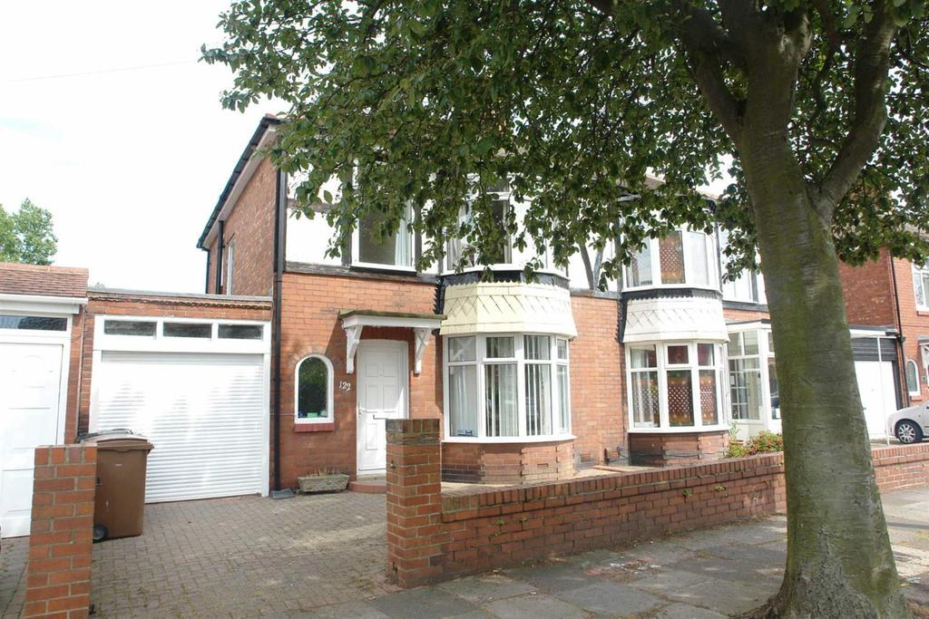 3 Bedrooms Semi Detached House for rent in Plessey Crescent, Whitley Bay