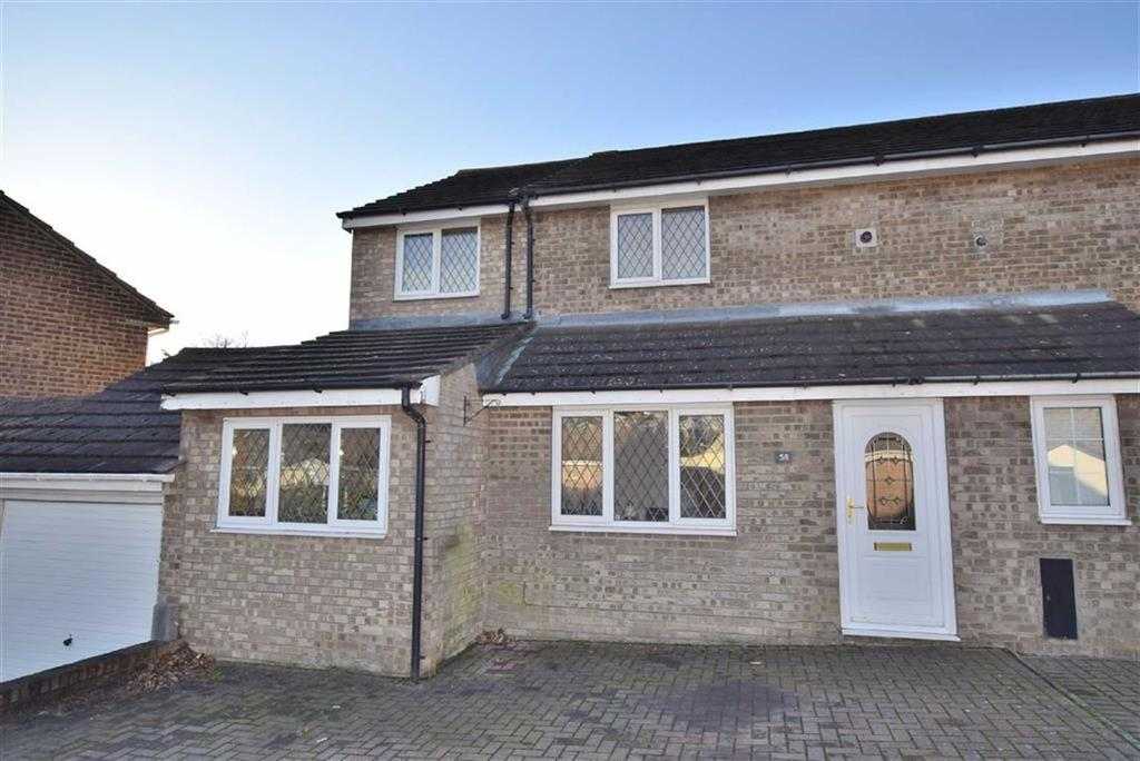 3 Bedrooms Semi Detached House for sale in Conan Drive, Richmond, North Yorkshire
