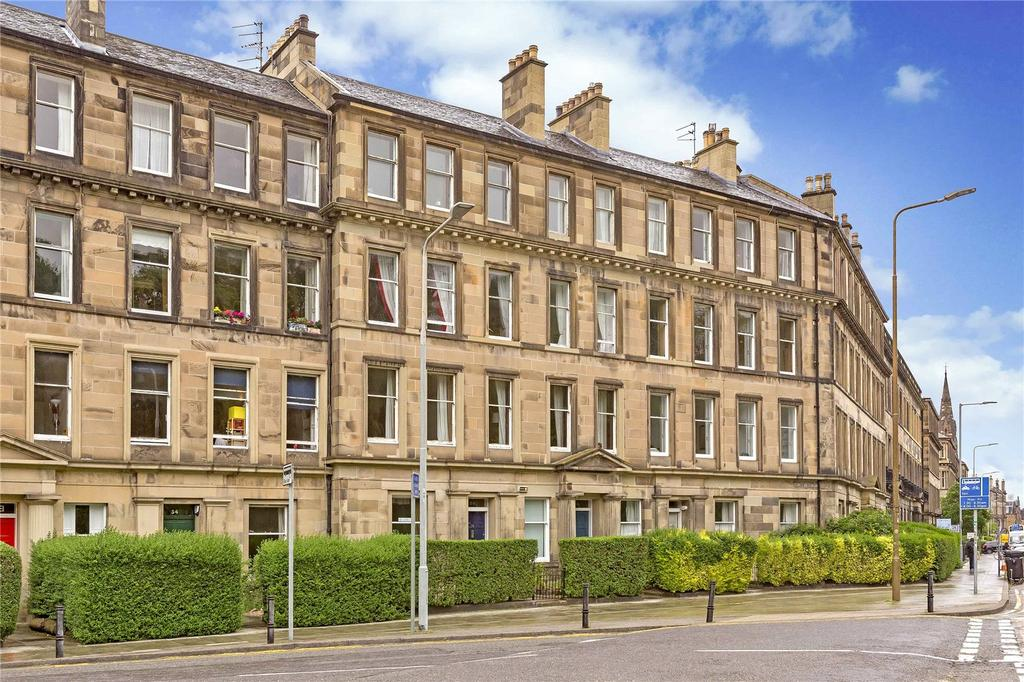 2 Bedrooms Flat for sale in 36,1F2 Hillside Crescent, Edinburgh, EH7