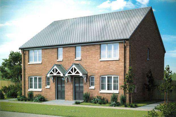 3 Bedrooms Semi Detached House for sale in The Bryce, Fairway View, Matlock, DE4