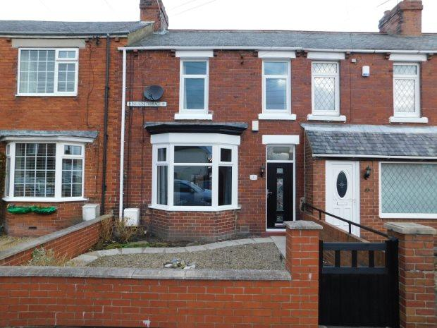 3 Bedrooms Terraced House for sale in NELSON TERRACE, SHERBURN VILLAGE, DURHAM CITY : VILLAGES EAST OF