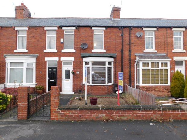 2 Bedrooms Terraced House for sale in NELSON TERRACE, SHERBURN VILLAGE, DURHAM CITY : VILLAGES EAST OF