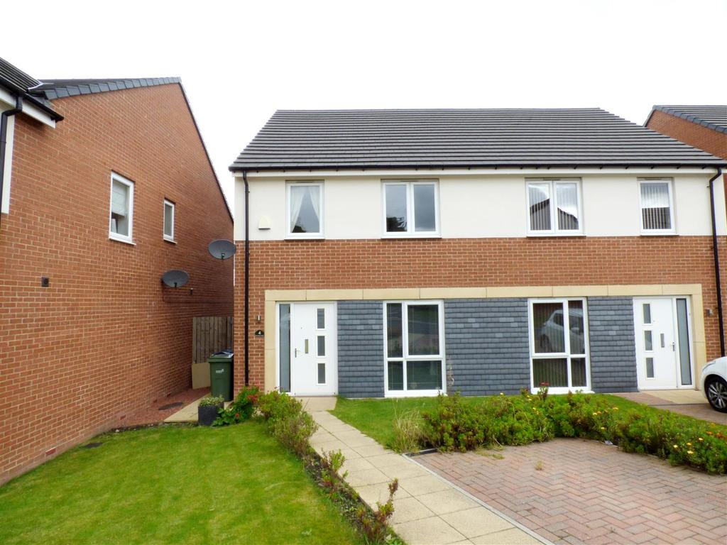 3 Bedrooms Semi Detached House for rent in Sternboro Park, Penshaw, Houghton-Le-Spring