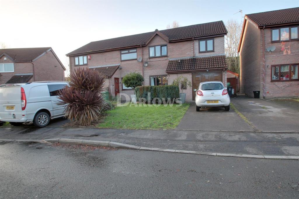 4 Bedrooms Semi Detached House for sale in Pennyroyal Close, St Mellons, Cardiff