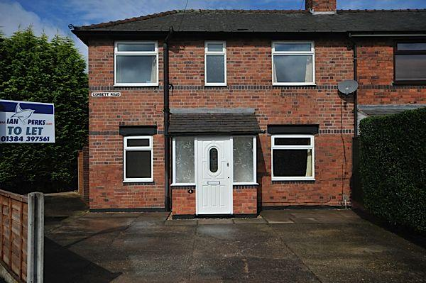 3 Bedrooms Semi Detached House for rent in BRIERLEY HILL - Corbett Road