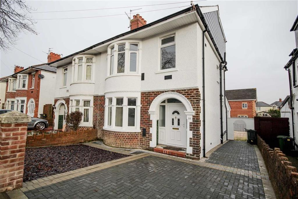 5 Bedrooms Semi Detached House for sale in Manor Way, Cardiff