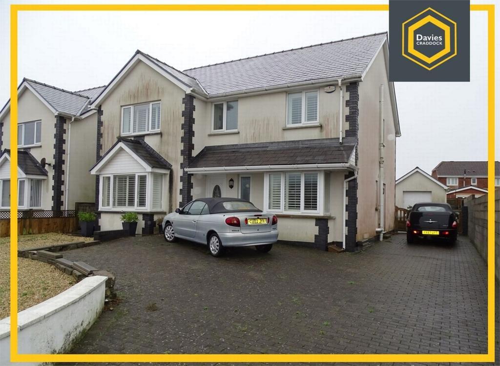 4 Bedrooms Detached House for sale in 43 Penllwynrhodyn Road, Llanelli, Carmarthenshire