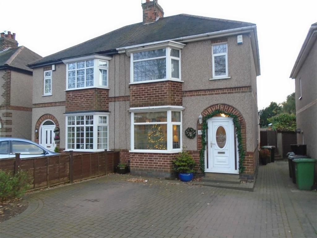 3 Bedrooms Semi Detached House for sale in Camp Hill Road, Nuneaton, Warwickshire, CV10