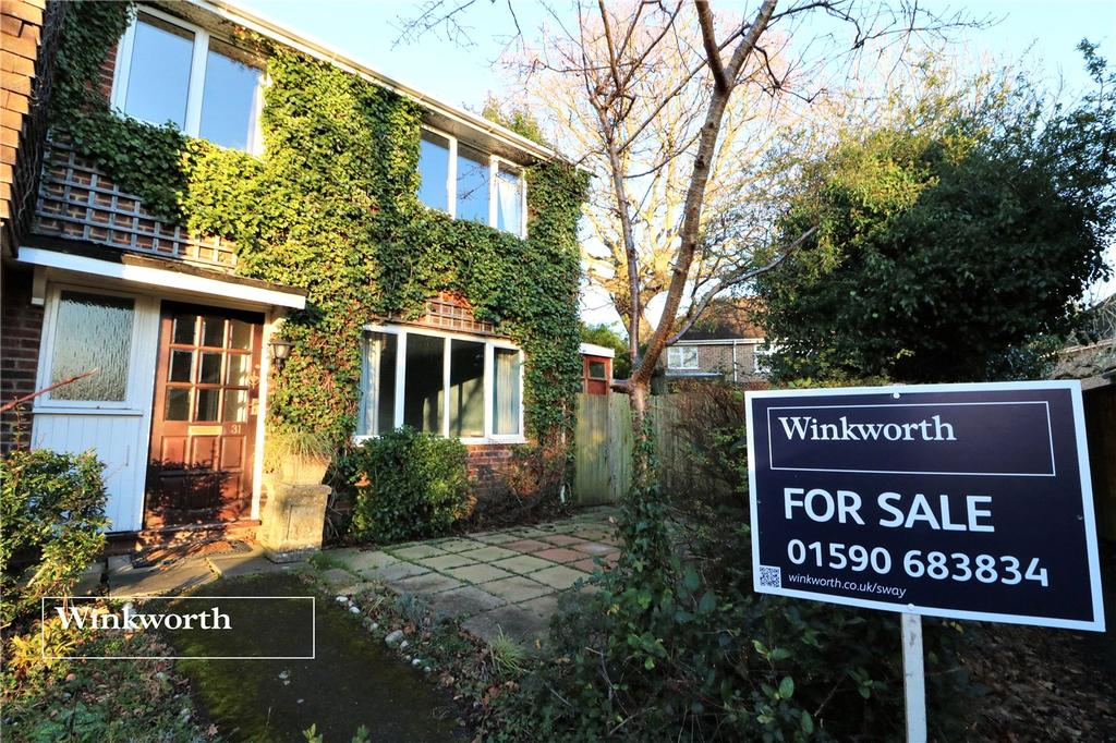 3 Bedrooms End Of Terrace House for sale in Stanford Rise, Sway, Lymington, Hampshire, SO41