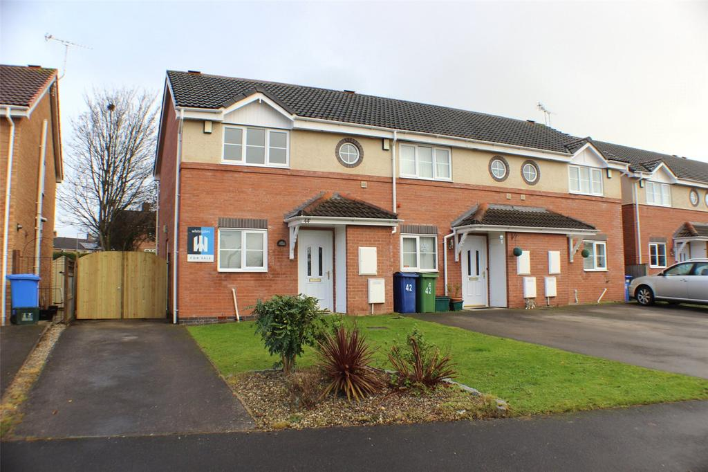 2 Bedrooms End Of Terrace House for sale in Newquay Drive, Abenbury Park, Wrexham, LL13