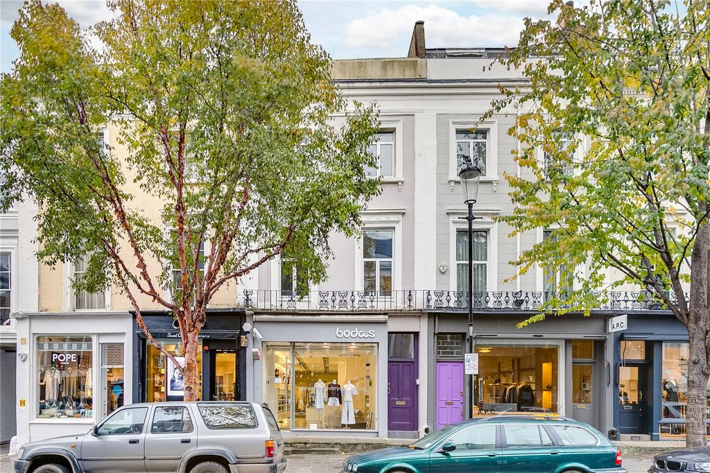 2 Bedrooms Flat for sale in Ledbury Road, London