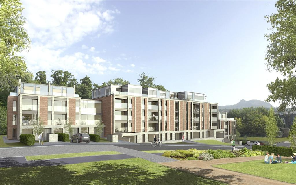 2 Bedrooms Apartment Flat for sale in A016 2 Bedroom New Build Apartment, Craighouse Road, Edinburgh, Midlothian