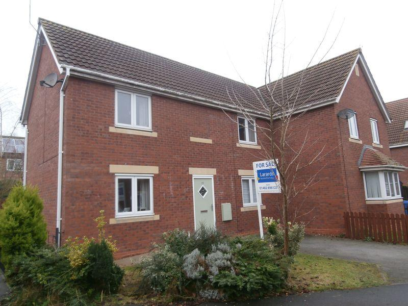 3 Bedrooms Semi Detached House for sale in Cooks Gardens, Keyingham