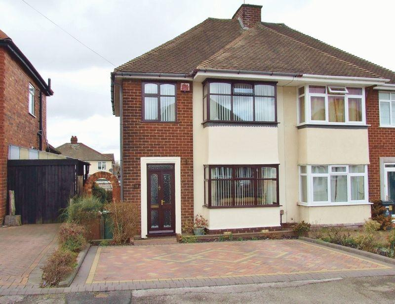 3 Bedrooms Semi Detached House for sale in Hodson Avenue, Willenhall