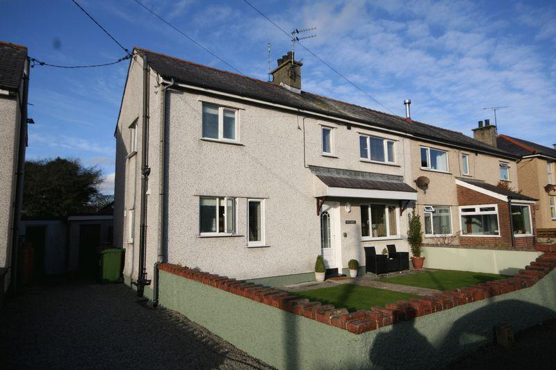 3 Bedrooms Semi Detached House for sale in Moelfre, Anglesey