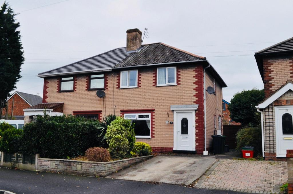 2 Bedrooms Semi Detached House for sale in Penrhyn Road, Winnington, Northwich, CW8