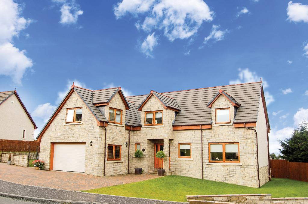 4 Bedrooms Detached House for sale in Rosebank Gardens, Wallacestone, Falkirk, FK2 0GB