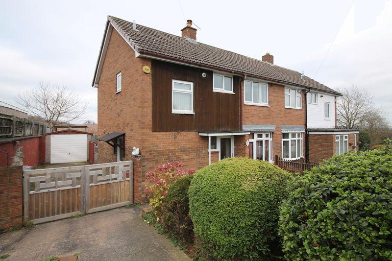 3 Bedrooms Semi Detached House for sale in Matlock Avenue, Dawley, Telford
