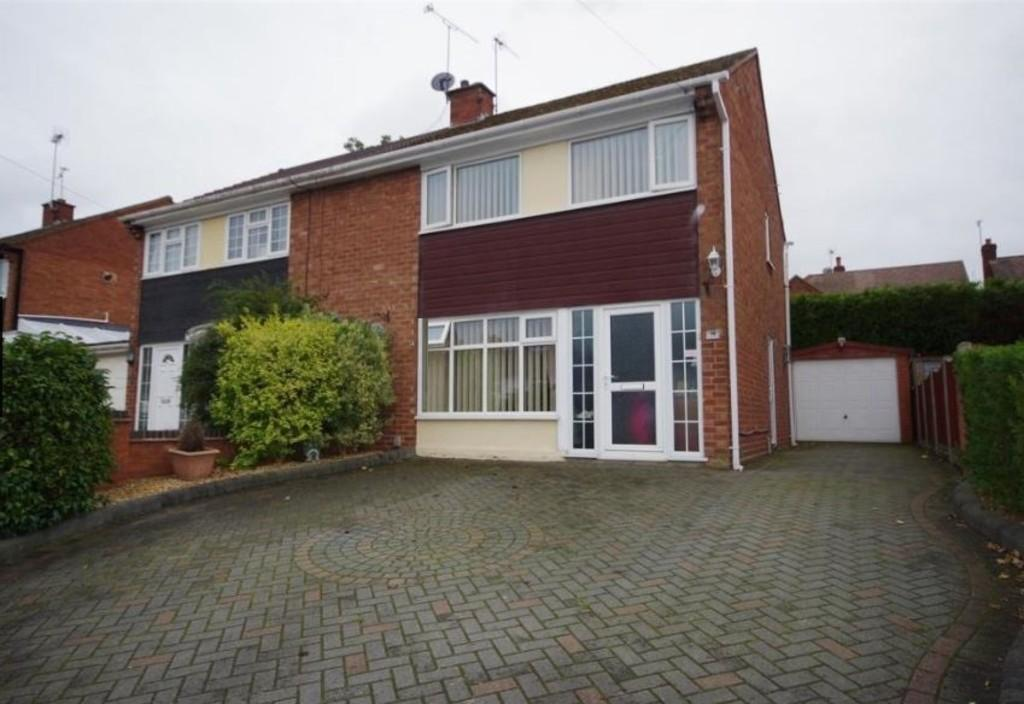 3 Bedrooms Semi Detached House for sale in Lodge Road, Brereton