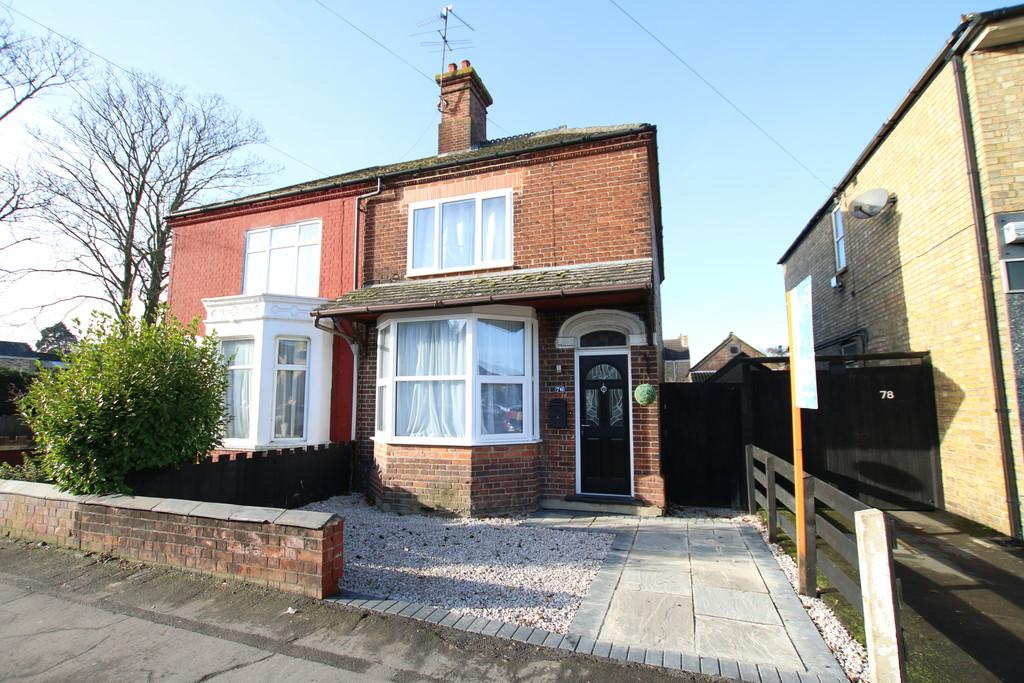 3 Bedrooms Semi Detached House for sale in Station Road, March