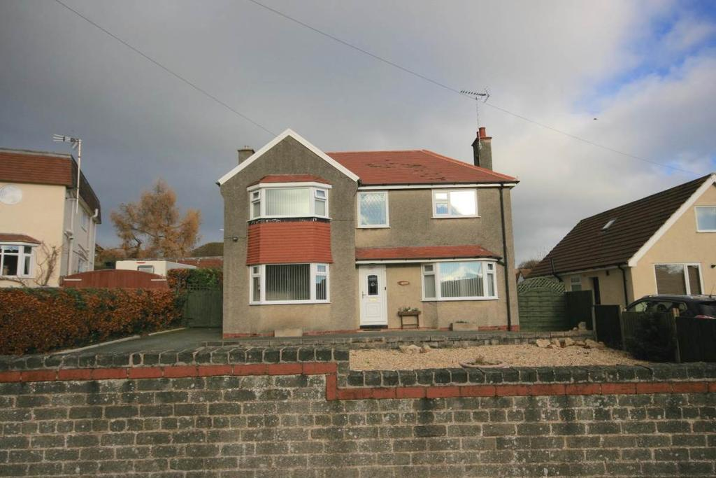 3 Bedrooms Detached House for sale in 4 Overlea Avenue, Deganwy, LL31 9PT