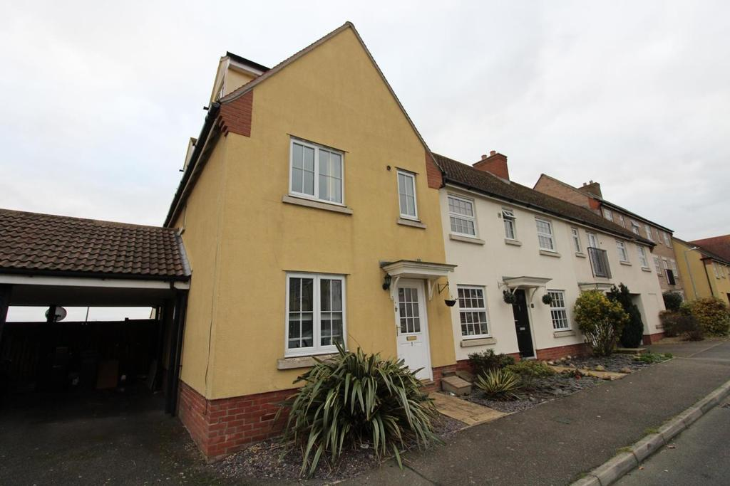 4 Bedrooms End Of Terrace House for sale in Holst Avenue, Witham, Essex, CM8