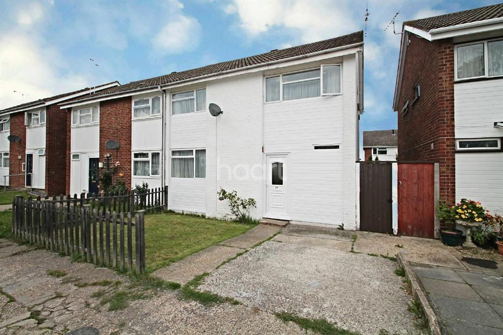 4 Bedrooms Semi Detached House for sale in Brock Close, Witham, CM8