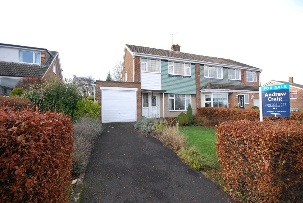 3 Bedrooms Semi Detached House for sale in Enfield Gardens, Whickham