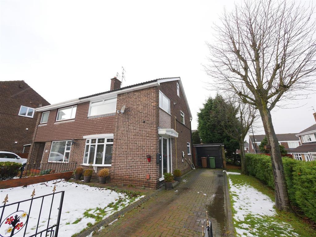 3 Bedrooms Semi Detached House for sale in Satley Gardens, Sunderland